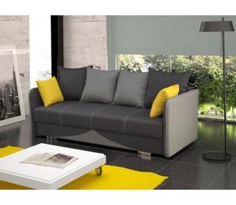 sofa IGA - rozkładana + pojemnik z kolekcji Laba
