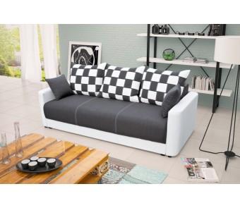 sofa XARA - rozkładana + pojemnik z kolekcji Laba