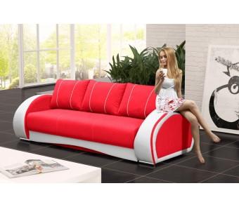 sofa CHER - rozkładana + pojemnik z kolekcji Laba