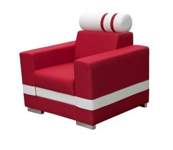 Fotel R1 z zagłówkiem z kolekcji Laba