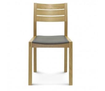 Krzesło LENNOX A-1405 dąb twarde / tapicerowane z kolekcji FAMEG