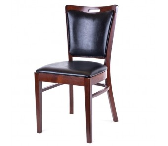 Fameg Krzesło A-423 buk tapicerowane z kolekcji FAMEG