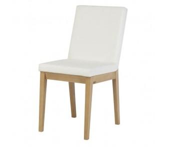 Krzesło APOLLO A-1228 buk tapicerowane z kolekcji FAMEG