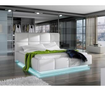 łóżko tapicerowane ASTI 160x200 z kolekcji EXCLUSIVE