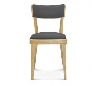 Krzesło SOLID A-9449/1 buk tapicerowane z kolekcji FAMEG