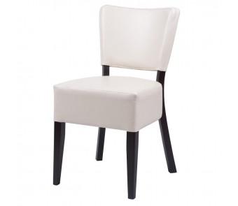 Krzesło A-9608/1 tapicerowane z kolekcji FAMEG