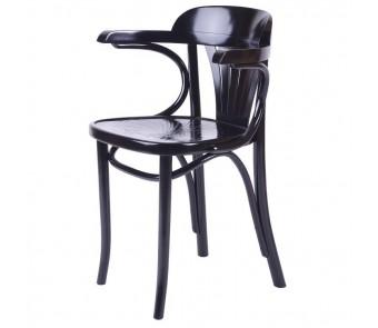 Krzesło B-165 twarde / tapicerowane z podłokietnikami z kolekcji FAMEG