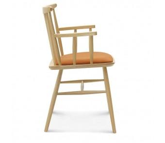 Krzesło B-1102/1 twarde / tapicerowane z podłokietnikiem z kolekcji FAMEG