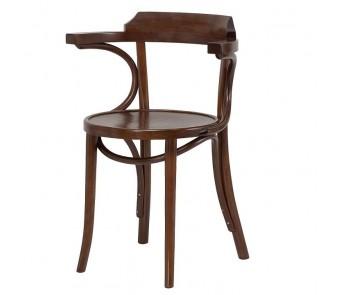 Krzesło B-1110 twarde / tapicerowane z podłokietnikiem z kolekcji FAMEG