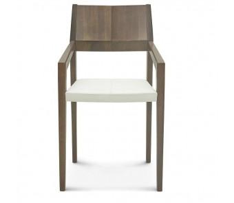 Fameg Krzesło B-1403 buk twarde / tapicerowane z podłokietnikiem z kolekcji FAMEG