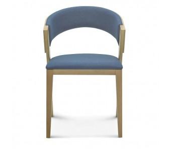 Krzesło COSY B-1404 tapicerowane z podłokietnikiem z kolekcji FAMEG