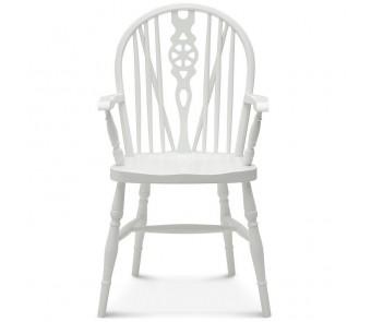 Krzesło WINDSOR  B-372 twarde z podłokietnikiem z kolekcji FAMEG
