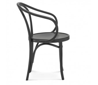 Krzesło B-9 twarde / tapicerowane z podłokietnikiem z kolekcji FAMEG