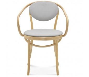 Fameg Krzesło B-9/1 tapicerowane z podłokietnikiem z kolekcji FAMEG