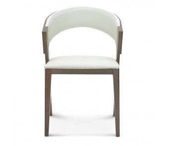 Krzesło COSY B-1404 dąb tapicerowane z podłokietnikiem z kolekcji FAMEG