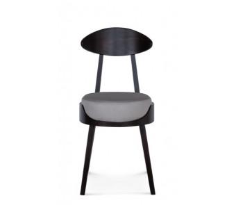 Krzesło UMA A-1505 buk  tapicerowane z kolekcji FAMEG