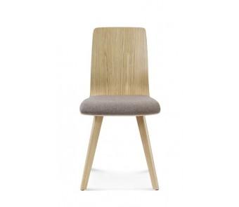 Krzesło CLEO A-1601 dąb tapicerowane  z kolekcji FAMEG