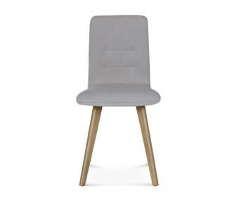 Fameg Krzesło A-1604 dąb tapicerowane  z kolekcji FAMEG