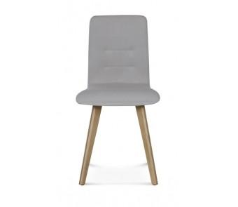 Krzesło A-1604 dąb tapicerowane  z kolekcji FAMEG