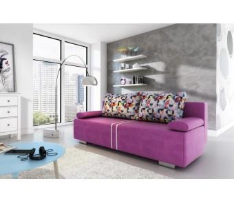 sofa MALINA - rozkładana + pojemnik z kolekcji Laba