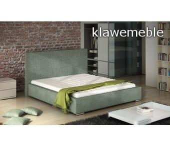 Łóżko tapicerowane BASIC 180 z kolekcji WEZYR