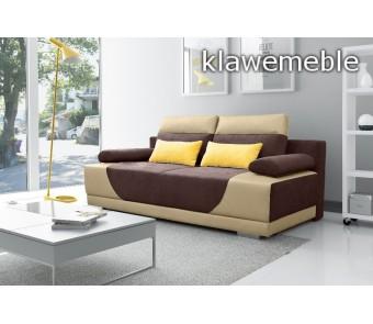 sofa GREGORY - rozkładana + pojemnik z kolekcji Laba
