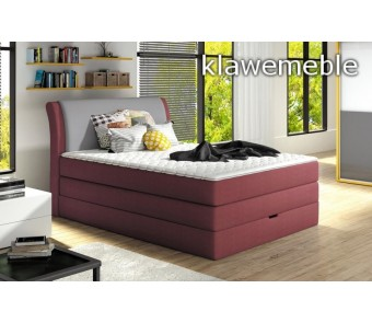 Łóżko AMALFI 100x200 cm z kolekcji EXCLUSIVE