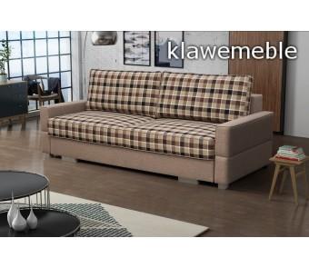 sofa SUZI- rozkładana + pojemnik z kolekcji Laba