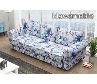 sofa BEZA - rozkładana + pojemnik z kolekcji Laba