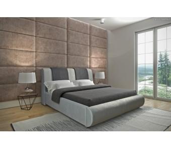 łóżko tapicerowane PLATINUM 140x200 z kolekcji SUŁTAN