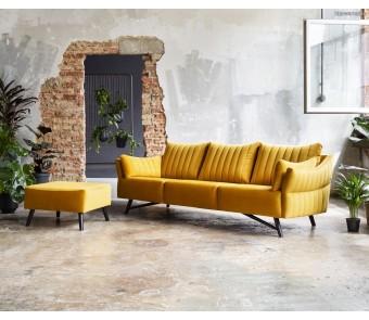 Sofa CASSIE 3 z kolekcji LUKSUS
