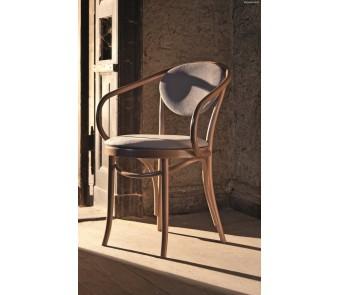 Krzesło B-9/1 tapicerowane z podłokietnikiem z kolekcji FAMEG
