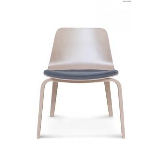 Krzesło B-1802 hips Dąb twarde/tapicerowane siedzisko z kolekcji FAMEG