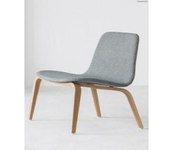 Krzesło B-1802/1 hips Dąb tapicerowane siedzisko+oparcie z kolekcji FAMEG