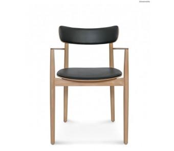 Krzesło NOPP B-1803/1  tapicerowane siedzisko+oparcie z podłokietnikami kolekcji FAMEG