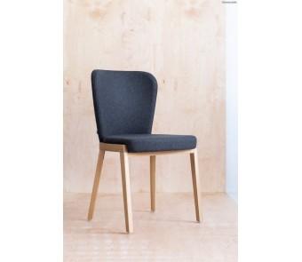 Krzesło A-1807 lava Dąb tapicerowane z kolekcji FAMEG