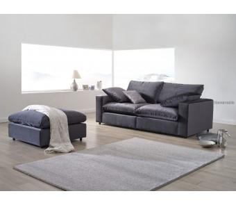 Sofa LAZY A-A + puf z kolekcji LUKSUS