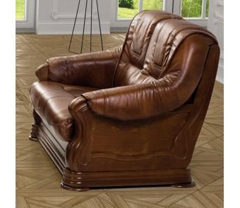 sofa PARMA 2 skóra naturalna z kolekcji EXCLUSIVE