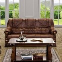 sofa PARMA 3F rozkładana Skóra naturalna z kolekcji EXCLUSIVE