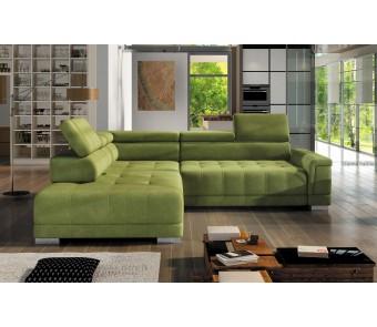 narożnik CAMPO L  F. relax + elektrycznie wysuwane siedzisko z kolekcji EXCLUSIVE