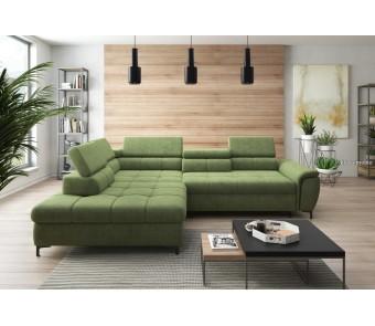 narożnik DENVO  F. relax + elektrycznie wysuwane siedzisko z kolekcji EXCLUSIVE
