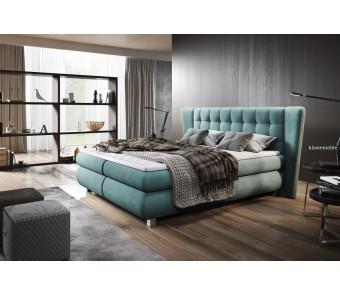 Łóżko hotelowe FLORENTINO z pięknym wezgłowiem 180x200 cm z kolekcji EXCLUSIVE