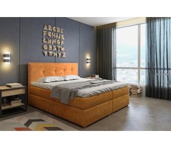 Łóżko kontynentalne SARA140x200 z kolekcji SUŁTAN