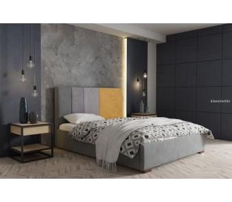 łóżko tapicerowane RICO 140x200 z kolekcji SUŁTAN
