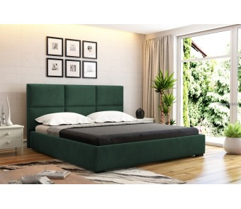 łóżko tapicerowane OTTO 140x200 z kolekcji SUŁTAN