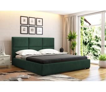 łóżko tapicerowane OTTO 160 x 200 z kolekcji SUŁTAN