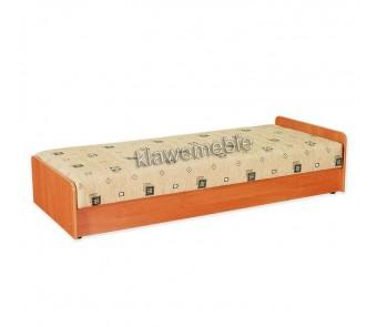 Łóżko KRZYŚ z pojemnikiem z kolekcji KOMFORT