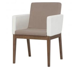 Krzesło B-1228 buk z podłokietnikami z kolekcji FAMEG
