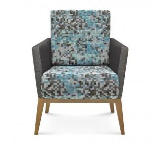 Fameg Krzesło B-1430 tapicerowane z podłokietnikiem z kolekcji FAMEG