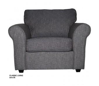 fotel CLASSIC LIVING 1 BOK 05 z kolekcji LUKSUS